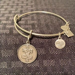Alex and Ani silver bangle